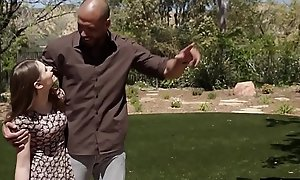 Stepteen take on stepmom to suck stepdad
