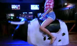 Teen cowgirls suck cock at one's disposal troop