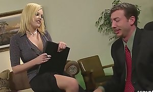 Huge Cock VIP Seduce Secretary Teen Codi to Fuck concerning Office