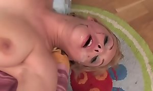 Facefucked Babyhood Humiliated and On the skids
