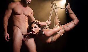 Mind-blowing BDSM XXX chapter almost gorgeous porn spoil