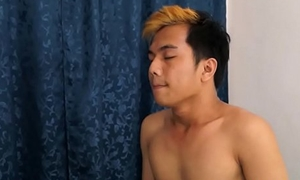 Camboian twink gets ass fucked
