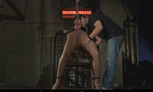 Anabell meets an obstacle painful prelude of bdsm fuck