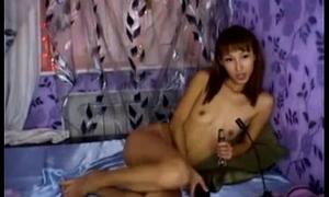 Honcho HTO WEbcam babe with Tiny Nipples