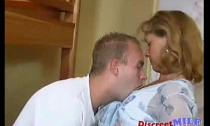 Horny mom and son fucking convivial