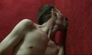 Gay hardcore gloryhole sex porn and nasty gay handjobs 22