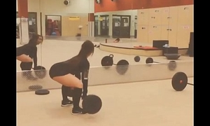 Listen in CAM GYM : ASIAN TEEN WORKING OUT