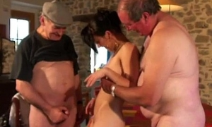 our voyeur papys first threesome