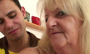 He brings blond grandma home be worthwhile for hard fuck