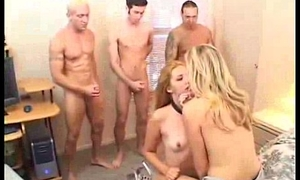 Teen resultant gets facial from horny guys