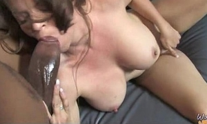 Powered MILF fucks young blacklist stud and gets orgasm 5
