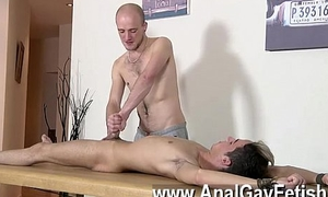 Hot gay scene Dom dear boy Kieron Knight has a super-sexy young youngster
