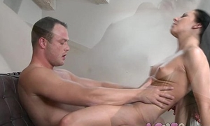 Love Creampie Sexy young mollycoddle all over abiding nipples gradually pumped full be expeditious for cum