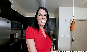 Reagan Foxx Bends In all directions be proper of Her Son