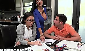 Bangbros - conduct oneself mother milf ava addams triad surrounding legal age teenager slayer summers
