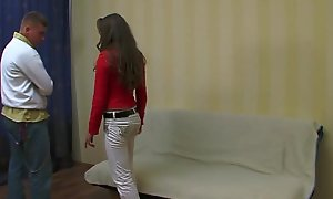 Casual legal age teenager making love - honey lafee screwed apart from a pickuper