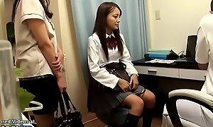 Japanese 18yo schoolgirl massage unceremonious end