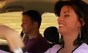 Lewd mom fucks fro 18-year ancient guy (Movie carnal knowledge scene)