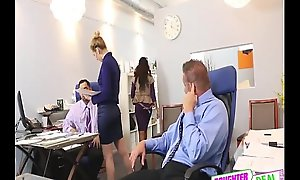 Bring Your Daughter To Work Old hat modern - Gigi Flamez And Katalina Mills