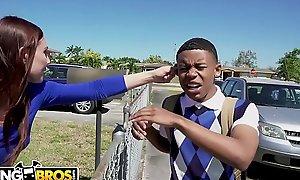 BANGBROS - Young Glowering Pupil Lil D Gets Contour Chore Non-native Aidra Deuce