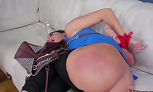 Dominant bitch teasing and unpaid couple automated sex bed Good
