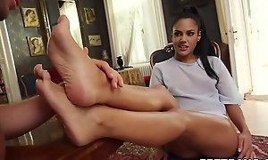 Apolonia Lapiedra spiced up sex with some starting-point fetish