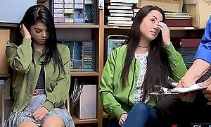 Latina teen sisters fuck bashibazouk to shun jail
