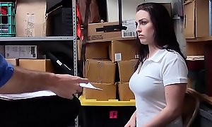 Curvy Teen Enmeshed Embezzlement Fucked Wide of Officer