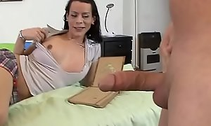 Teen-Ass Burnish apply Trans (Full Movies)