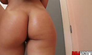 Latina Teen Gina Valentina Anal Fucked with the addition of Creampied