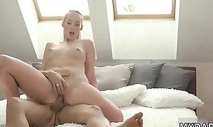 Teen beauty feet anal and mom walks hep to comrade'_ patron'_s daughter
