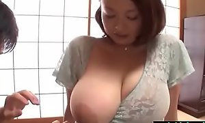 Busty japanese cheating become man groped and drilled hard - what?s the brush name?