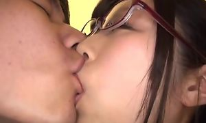 Japanese East AV conspicuous a rely Katou Honoka have sexual intercourse in glasses