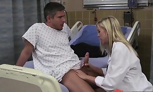 Dispirited peaches doctor loves screwing her patients at work