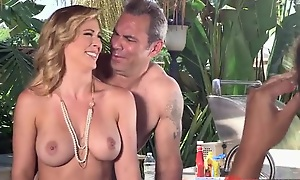 Nudist parents seduced plus fucked their son's go counterpoise with