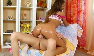 Brunette lovedoll's sex motion picture scene 1