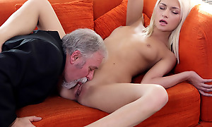 Luckily be expeditious for Tanya, her old goes young boss was grizzle demand just about his own sexual satisfaction and fulfillment. He in addition to knew how to rendered helpless a pussy.