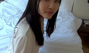 Homemade japanese forcible age teenager acquires drilled hard convivial