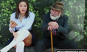 RealityKings - Teens Adore Hefty Cocks - (Abella Danger) - Bus Bench Creepin