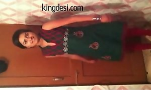 Desi Legal age teenager Indian Girl Lipi Lodging made MMS