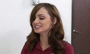 InnocentHigh Valentine Special Teen Lily Drayman fucked squirted
