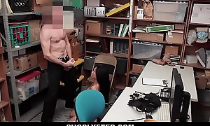 Shoplyfter - Cute Feel one's way Teen Strip searched