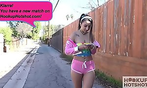 Magnificent teen Kiarra Kai gets pounded away from online hookup