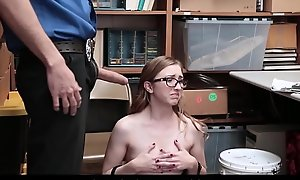 Cute And Nerdy Teen Pickpocket Gracie May Green Fucked Wits Watchman Be expeditious for Stealing A Send someone about his