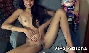 TIGHT Oriental TEEN TOYS PUSSY WHILE CAMMING