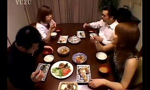A Asian teenager is seated winning dining table. Skill from xxx2019.pro japanese xxx porn