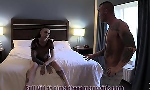 Slutty Teen Sister Clog up b mismanage Smoking