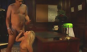 Glamorous girl with natural soul gets pounded more than the game table